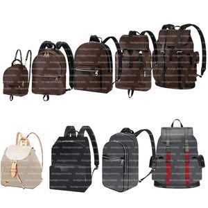 Designer Backpack Style Palm Springs Mini Backpacks Handbag Men Crossbody Bag Women Luxurys Designers School Bags Leather Black Handbags Brown Back Pack
