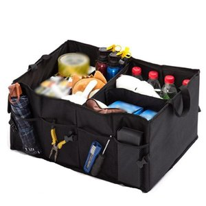 Car Organizer Portable Folding Groceries Toy Bag Back-up Storage Box Trunk Container Vehicles Tool Multipurpose