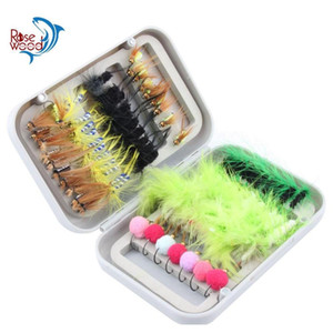 80Pcs Dry Fly Fishing Lure Set With Box Artificial Trout Carp Bass Butterfly Insect Bait Freshwater Saltwater Flyfishing Lures 1Sfe8 Cvntk