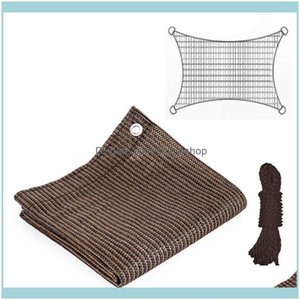 Buildings Patio, Lawn & Gardenropes Shade Cloth Net Protect Plants Roof Er Garden Netting Mesh Outdoor Home Greenhouse Durable Sunshade Hdpe