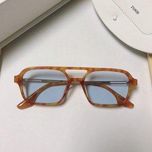 النظارات الشمسية النظارات الكورية 2021 أزياء gm النساء الرجال الملوك uv400 عدسات الشمس للرجل المرأة