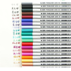 26 Colors Fineliner Pens 0.4mm Ultra Fine Tip Colored Pen Watercolor Based Micron Ink Marker Pen Set Perfect For Sketch jllHeb