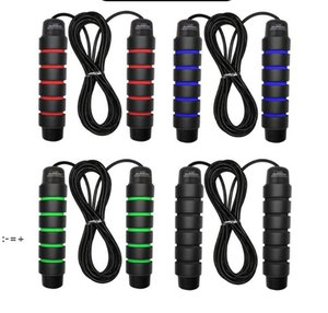 Home & Garden Rope Skipping Gym Jump Ropes Weight Lifting Speed Rope Exercise Fitness Equipment Steel Wire Rope Fat Burning OWA9454