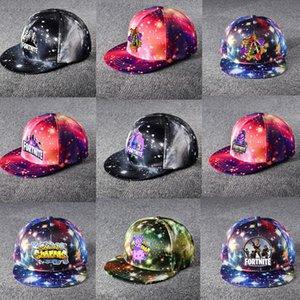 Unisex Baseball Cap Jogos Design Snapbacks Pico Caps Dos Desenhos Animados Impressão Casquette Visor Tampão Esporte Hip Hop Hats Sunhat 36 estilos
