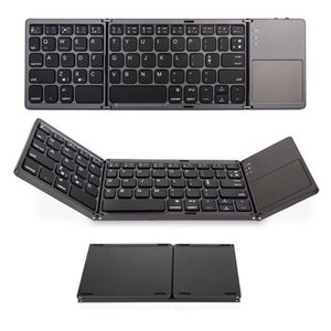 portable mini foldable keyboards Bluetooth Wireless Keyboard with Touchpad Mouse for Windows,Android,ios,Tablet ipad,Phone wireless keyboard