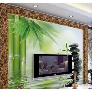 Wholesale- Modern Home Decor Custom 3d Mural Wallpape Bedroom Living Room Sofa Tv Backdrop Wall Wallpaper Wate jllZcT outbag2007