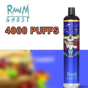 Disposable E Cigarette Fumot wholesale RandM Ghost 4000 Puffs dazzle with USB port