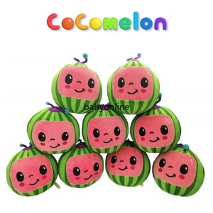 Presente de Ano Novo para Menina Menino Melão JJ Brinquedos de Pelúcia Cocomelon Crianças Presente Presente Bonito de Brinquedo Educacional de Brinquedo Educacional