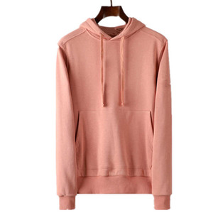 topstoney 2020FW konng gonng Spring and autumn new fashion brand men's jumper Hoodie coat Pure cotton wool Basic style4KDD