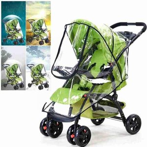 Stroller Parts & Accessories Rain Cover, Stroller, Windshield, Stroller. Umbrella, Raincoat Warm T7u6