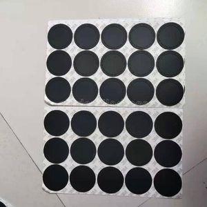 Круглый черный резиновый кабельный накладки самоклеящаяся чашка наклейки на 15 унций 20 унций 30oz Tumblers защитные нескользящие колодки 4751CY28