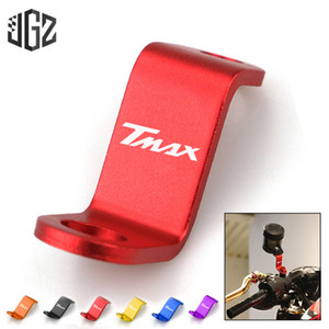 Motorcycle CNC Mirror Hole Plug Mounting Extender Bracket Oil Cup Stands Holder for Yamaha TMAX 530 500 560 2017 2018 2019 2020
