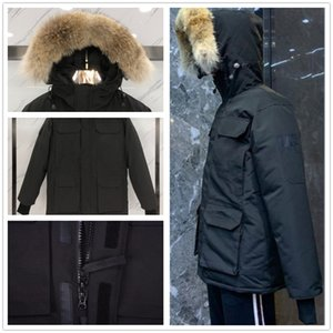 Winter outdoor leisure sports down jacket white duck windproof parker long leather collar cap warm real wolf fur stylish classic adventure coat