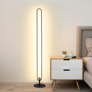 Modern Minimalist Lampade da terra in metallo Lampada da terra a LED per soggiorno Camera da letto Lampada per lampada Stand Studio Stand Piano Piano