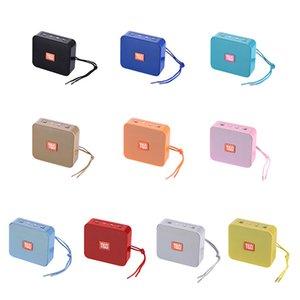 TG166 Mini Speaker Portable Bluetooth Speakers Small Wireless Lightweight Outdoor Subwoofer Loudspeaker Support FM TF Card