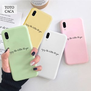 enjoy the little things Phone Protection Soft Case for Samsung A20 A30 A40 A50 A51 A70 S8 S9 S10 S20 PLUS
