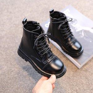Boots Girls' Winter Children's Ankle Comfortable Warm Fashion Kids Velvet Leather Soft Bottom Toddler Girl Snow