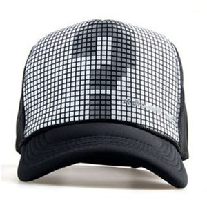 Snapback mesh baseball outdoor summer sports hat trucker cap men net cap hiphop Visor Sunbonnet hat for women truck unisex10
