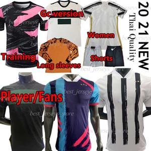 2020 2021 Bianconeri Fans Player Версия Футбол Джерси 20 21 Длинные Рукава GC Версия Учебные Шорты Брюки Мужчины Футбольная Рубашка