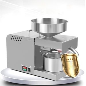 610W Oil Pressers Automatic Household Linseed Peanut Coconut Olive Stainless Steel Cold Press X5 110V 220V With