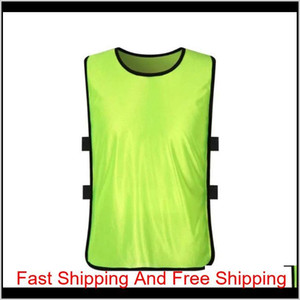 Team Training Scrimmage Vests Soccer Basketball Youth Adult Pinnies Jerseys New Sports Vest Breathable Te qylPVd five2010