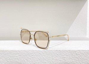 Sunglasses For Men and Women Summer style 81RS Anti-Ultraviolet Retro Plate Metal Full Square frame fashion Eyeglasses Random Box