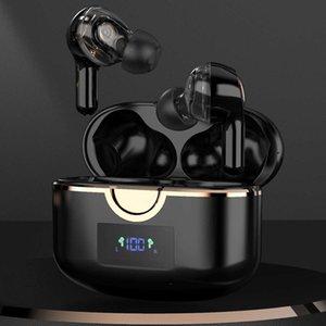 Tiyiviri TWS Auriculares Bluetooth 5.1 In-Ear Wireless Touch Auricular Bajo Estéreo HiFi Música Control de volumen 4 MICS Auriculares para teléfono