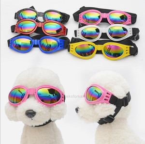 Glasses Dogs Eye-wear foldable Pet Dog Sunglasses Little eye protection Goggles Cat Glasses Photos Props Cats Pet SuppliP91G