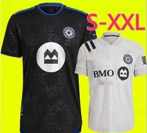 2021 Club De Foot Montréal Ev Montreal Futbol Formaları Etki 20 21 Dış Mekanlı Wanyama 2 Mihailovic 8 Piette 6 Quioto 30 MLS Jersey Gömlek