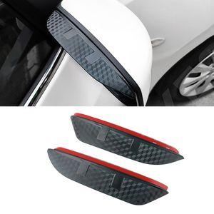 For Nissan Terra Patrol Maxima 2018-2021 Auto Car Side Rearview Mirror Rain Visor ABS Carbon Fiber Eyebrow Sunshade Guard Cover