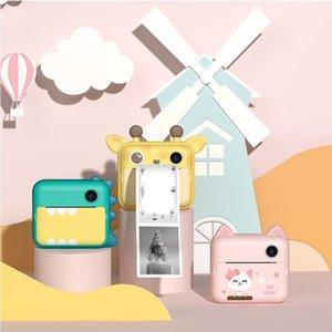 Digital Cameras Po Print Camera Toys Cute Children Instant Mini Video For Girls Boys Birthday Gifts