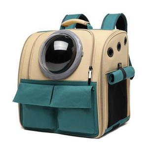 Cabine de sac de compagnie pour animaux de compagnie, chat sortez cage, chien sortez un sac scolaire, valise avec sac à dos de chat double épaule portable