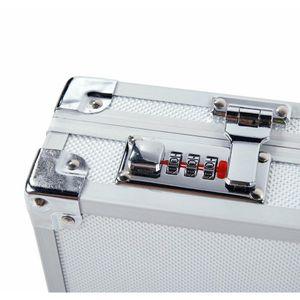 Aluminum Framed Locking Gun Case Pistol Handgun Lock Box Har jllbMS insyard