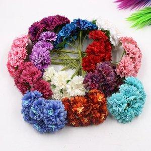 DIY Craft гирлянда ручной работы аксессуары съемки реквизиты модели градиентная ткань шелковый цветок многослойная хризантема Hua ying artifici