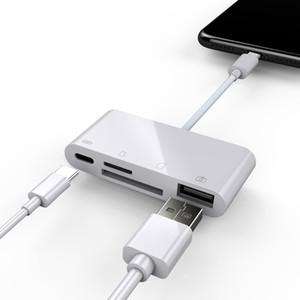 MacBook Pro Type-C 포트 용 USB 유형 C 카드 판독기 Smart Memory Card Reader 어댑터