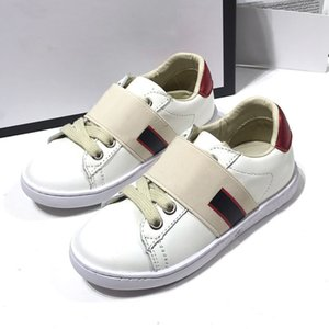 2021 Cut Low Fashion cool Stripe Classic Casual Trainer Children Boy Girl Kid Skate Sneaker Fashion Sport Shoes size24-35