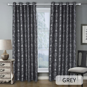 Simple Printed Blackout Curtains, Used For Hotel Living Room And Bedroom Curtains, Bedroom Kitchen Decoration