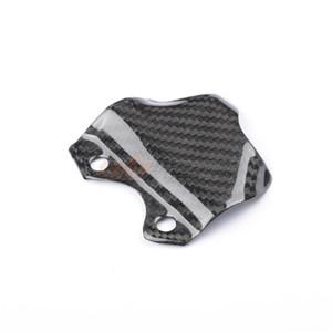 Motorcycle Black brake pump guard cover Cowl Farings For Ducati 848 1098 1198 Full Carbon Fiber 100% Twill