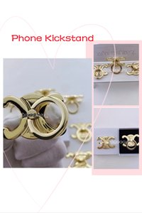 Gold Phone Kickstand Mounts and Holders for Adapt to all types of mobile phones Indelible color Metal material Kickstands