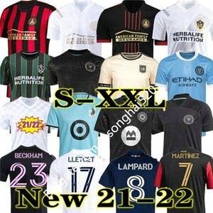 MLS 2021 2022 Los Angeles La Galaxy Inter Miami CF Futebol Jerseys 21 22 Cincinnati Atlanta D.C United LaFC Montreal Nashville Minnesota