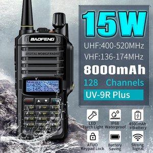Walkie Talkie BAOFENG 15W Updated Version UV-9R Plus VHF UHF Dual Band Handheld Two Way Radio