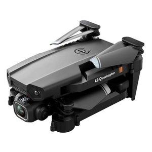 بدون طيار LSRC LS-XT6 مصغرة wifi fpv مع 4 كيلو / 1080p hd المزدوج كاميرا ارتفية عقد وضع طوي rc drone quadcopter rtf أعلى بيع