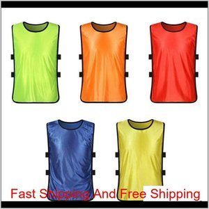 Team Training Scrimmage Vests Soccer Basketball Youth Adult Pinnies Jerseys New Sports Vest Breathable Tea qylFiy lyqlove