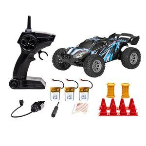 1/32 2,4G 25km / h Wasserdichte RC Racing Auto Buggy Truck Off-Road Toys Fernbedienung Fahrzeug 201105