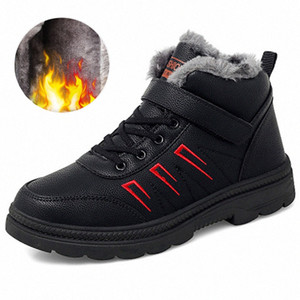 Outdoor Leisure Sports Shoes Winter Snow Boots Trend Warm And Comfortable High Top Mens Cotton Shoes Indestructible Mens High Heel Boo 38id#