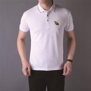 20SS MENS Designr Marca T SHIRTS SOFT POLO T-SHIRTS Black Man Fashion Funny Summer Designer de lujo Camisa de manga