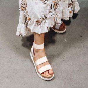 Mujeres Plataforma Sandalias Mujeres Peep Toe High Dihope Heel Tobillo Hebillas Sandalia Espadrilles Sandalias Sandalias Zapatos Sparx Sandalias Azul Zapato Z6ED #