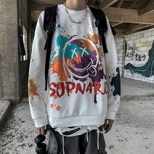 New 2021 Legal Dibo Hoodie Streetwear Homem Hip Hop Casal Moletom Branco Solto Topos Casuais Primavera Outono Japo Dos Desenhos Animados Ro