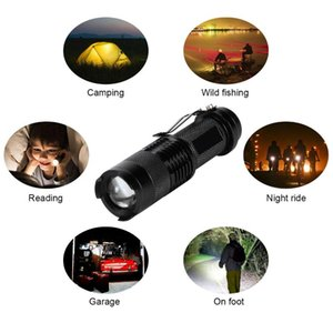 High Power Tactical Handheld LED Mini 3 Modes Zoomable Waterproof Lamp Light for Camping JS22