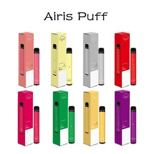 100% Genuine Airis Puff 800 Puffs Disposable Device 3.2ml Prefilled Pod Cartridge 550mah Battery Vape Pen E-Cigarettes Device Plus XXL